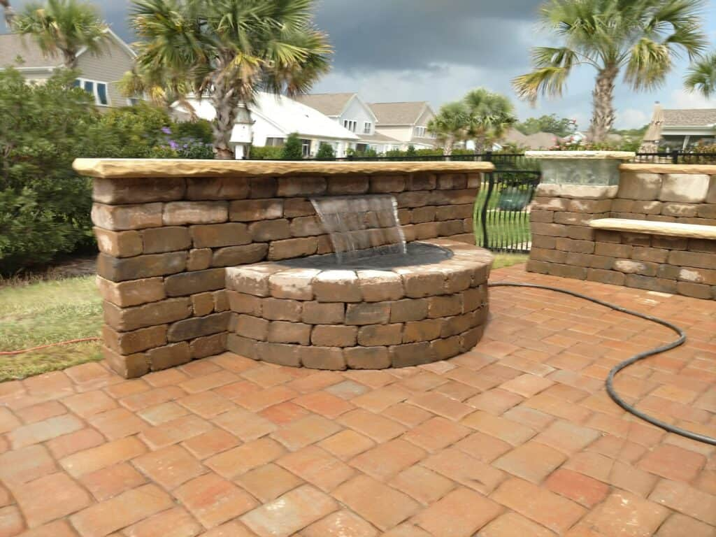 Outdoor Living Spaces In Myrtle Beach And Conway Sc J Gann Landscapes